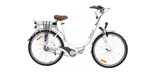 Evelo - Luna Series Electric Bicycle E-Bike - White