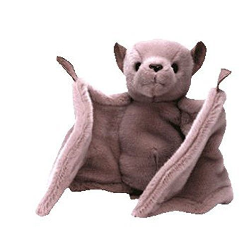 Batty the Bat (Brown Version Pink Nose) - Ty Beanie Babies - 1