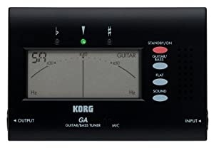 Korg GA-40 Large Display Guitar and Bass Tuner
