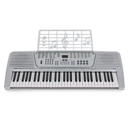 Lowest Price! 61 Key Electronic Music Keyboard Gift Electric Piano Organ 61 Silver Musical Intrument...