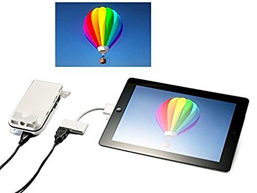 Aiptek mobilecinema i60 portable home theater pocket for Compact projector for ipad