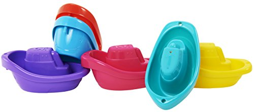 Munchkin Bath Toy, Little Boat Train, 6 Count - 1
