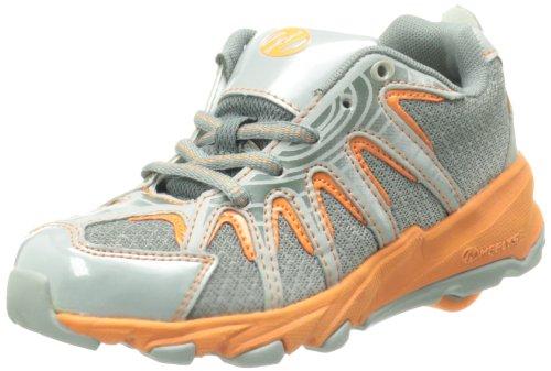 Heelys SONAR 7966, Unisex-Kinder Sneaker, Grau (Grey/Orange), EU 38 (US 6)