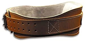 Buy Schiek Contour Leather Lifting Belt by Ironcompany.com