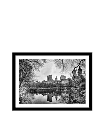 Photos.com by Getty Images Central Park NYC Buildings Artwork On Framed Paper