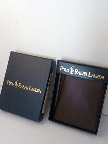 Portafoglio Pelle Marrone Polo Ralph Lauren