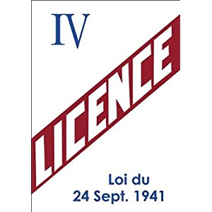 plaque metal licence IV 416l48kd%2BJL._SL500_AA300_