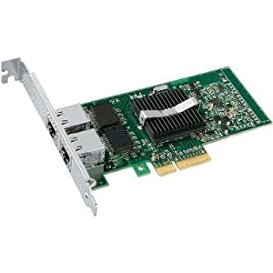 Intel PRO/1000 PT Dual Port Server Adapter - network adapter - 2 ports (EXPI9402PTBLK) -