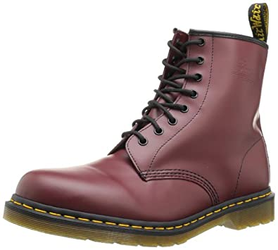 Dr. Martens Men's The 1460 8-Eye Boot 10 Cherry