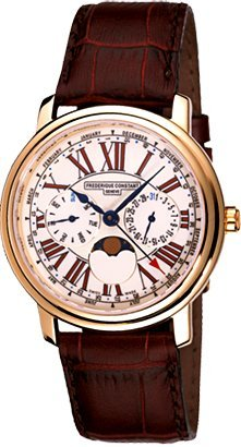 frederique-constant-mens-quartz-watch-with-white-dial-analogue-display-and-brown-leather-strap