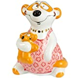 Adam & Ziege Porcelain Salt / Pepper Pot - Edeltraud The Meerkat