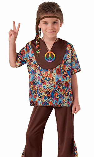 60's Hippie Boy Child Costume, Small