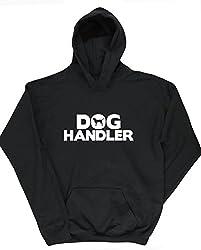 HippoWarehouse Dog Handler kids unisex Hoodie hooded top