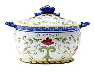 Certified International Amalfi Soup Tureen, 3-Quart by Certified International