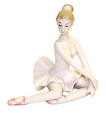 Ceramic Ballerina Statue,6009P,multi-colored,One-Size