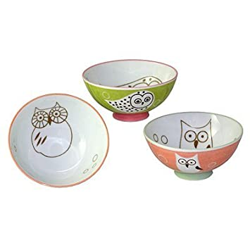Set of 3 Assorted Rice Bowls | MIYA