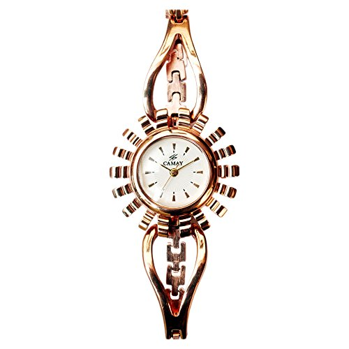 Swatch Camay IPR Analogue White Dial Women's Watch - Princess-12 IPR