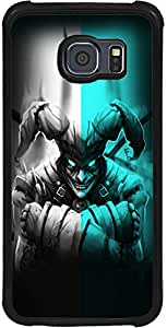 PrintVisa 2D-SGS6-D7640 Abstract Scary Face Case Cover for Samsung Galaxy S6 (SM-G920i)