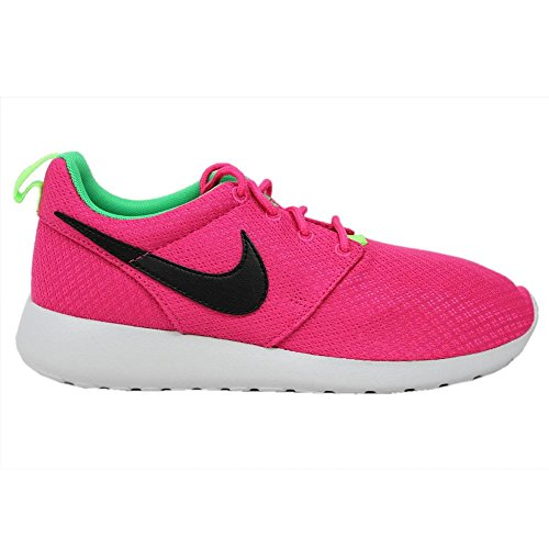 Girl's Nike 'Roshe Run' Athletic Shoe, Size 1 M - Pink