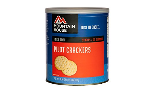 Mountain House Pilot Crackers #10 Can (Dehydrated Crackers compare prices)