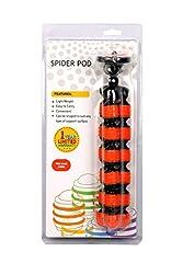 Photron Spider Pod GorillaPod Flexible Compact Tripod (Orange)