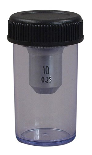 Omax 10X Objective Lens For Shop Microscopes