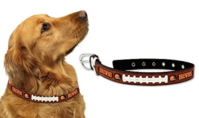 Cleveland Browns Dog Collar - Large (Please see item detail in description)