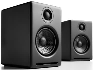 Audioengine 2+ Powered Desktop Speakers (Black)【国内正規品】