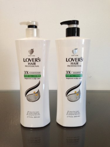 LOVER'S HAIR PROFESSIONAL 3X SHAMPOO + CONDITIONER