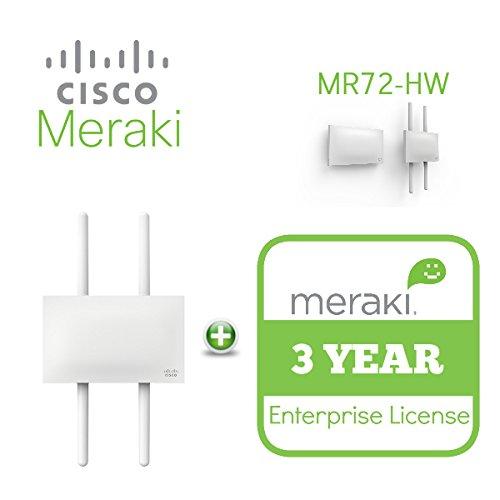 Cisco Meraki MR72 Dual-Band 3-Radio 802 11ac 2x2 MIMO