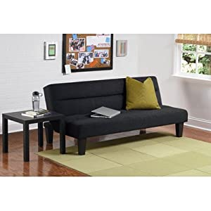 Kebo Microfiber Living Room Collection Color: Charcoal