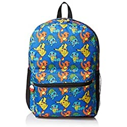 Mochila - Pokemon - Pikachu Balbasaur Charmander