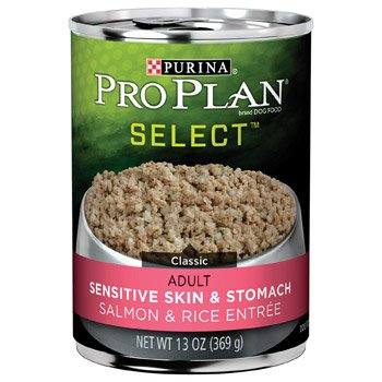 Pro Plan Extra Care Sensitive Skin And Stomach Salmon And Rice Canned Dog Food