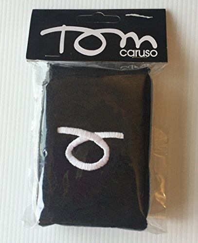 Polsino Nero TOM CARUSO conf da 2pz