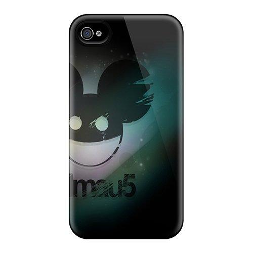 New Deadmau5 Tpu Case Cover, Anti-Scratch Miroman Phone Case For Iphone 4/4S