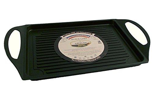 Bistecchiera Black Chef 34x26cm antiaderente