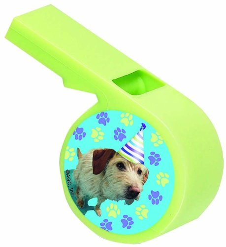 Designware Party Pups Whistles - 4 ct - 1