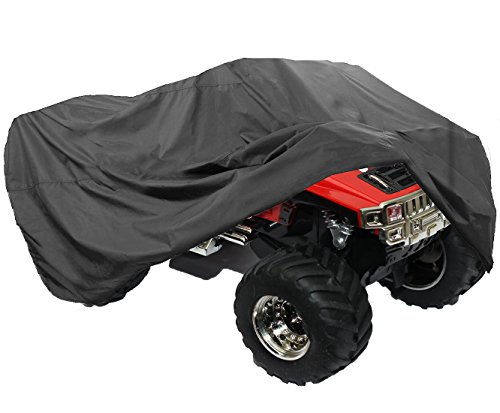 LotFancy All Weather ATV Cover, Durable Universal Waterproof Wind-proof UV Protection (XL 98x47x45 inch) (Polaris Atv Cover compare prices)