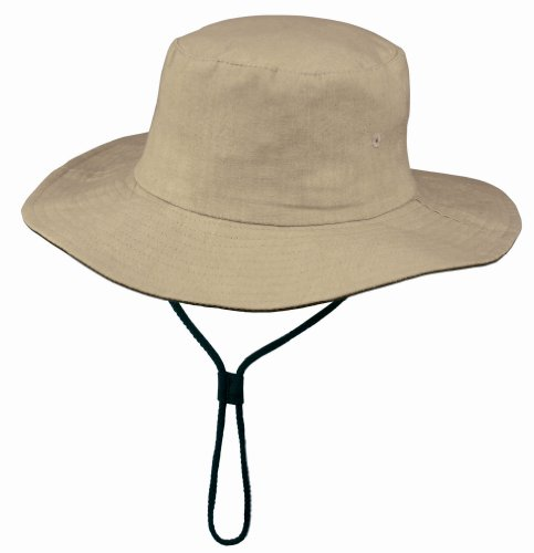 US BASIC 'CLYDE' OUTBACK HAT COTTON CAP - 2 COLOURS