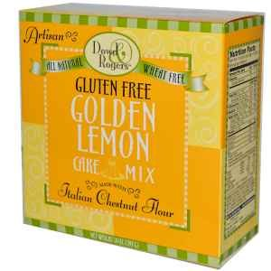 Funfresh Foods Gluten Free Golden Lemon Cake Mix, 14 Ounce