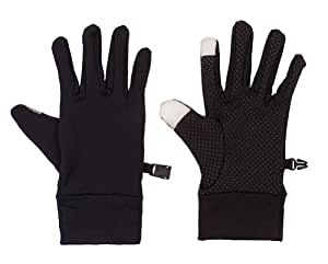 4 Pcs Best Offer Touch Spandex Gloves with Conductive Yarn Finger Tips for IPhone, IPad, Xmas Gifts