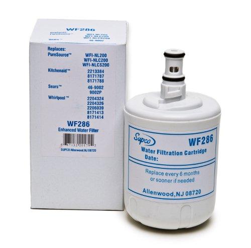 Supco WF286 Kenmore Refrigerator Water Filter Replacement