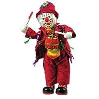 Clown Figurine Music Box With Drum