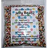 8 Ounces, About 15,000 Jelly BeadZ Water Bead Gel, For  Stress Balls, Summer Rainbow Mix