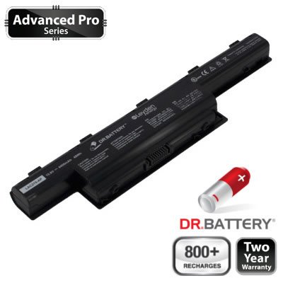 Dr. Battery Advanced Pro Series Laptop / Notebook Battery Replacement for Gateway NV59C50u (4400mAh / 48Wh) 800+ Imputation Cycles. 2 Year Warranty