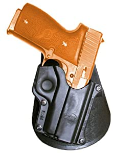 Concealed Carry Fire Arm Fobus Belt - Roto / Retention Hand Gun Holster Model K-40-BH-RT. Fits to: Kahr - Kahr 40, Walther - Walther P380. Conceal Carry