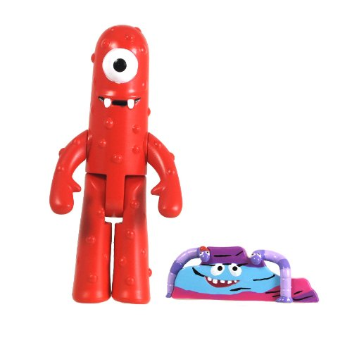 "YO GABBA GABBA 3"" Muno Figure with Accessories - 1"