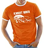 Knight Rider Contrast T-Shirt S-XXL Various Colours
