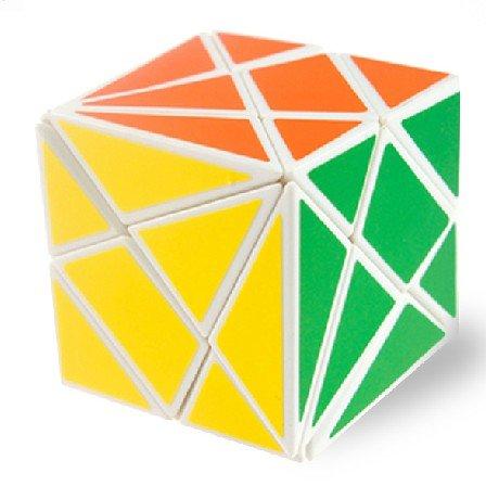 Diansheng Axis Fluctuation Angle Shape Mode Cube Puzzle White - 1