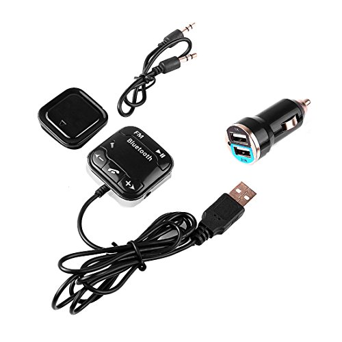 Car MP3 Player FM Bluetooth CarKit Hands Free Dual USB Car Charger FM para iPhone Samsung (Fm Para Auto compare prices)